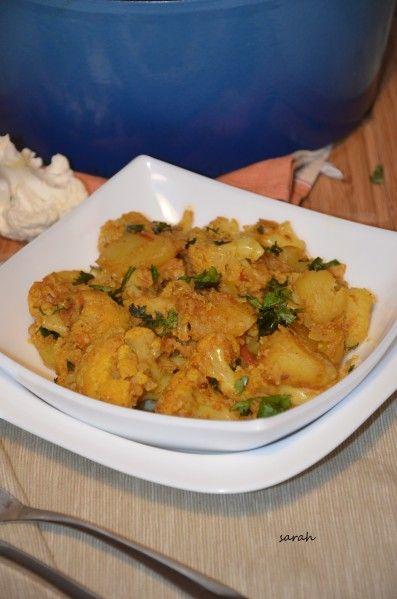 Aloo gobi succulent plat indien!