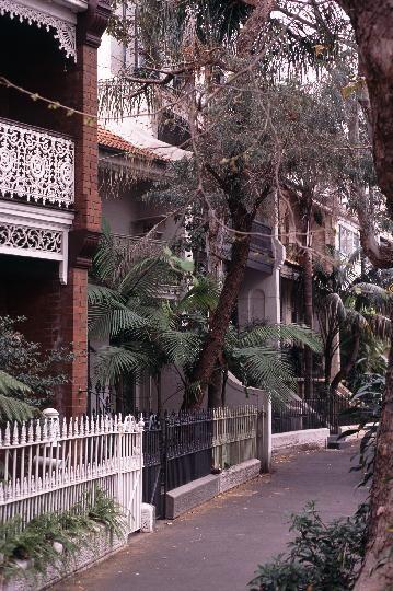 Sydney terraces.
