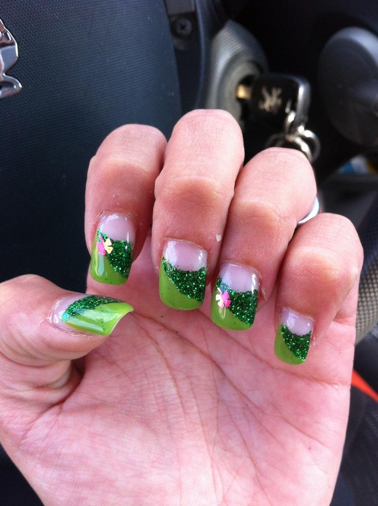 Shamrock Green glitter