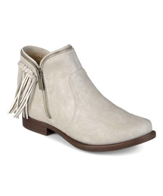 Bella Cora Stone Surrey Ankle Bootie | zulily