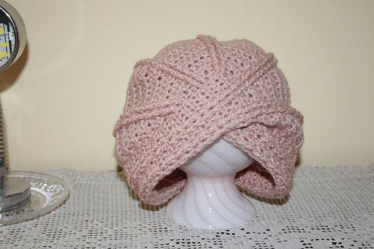 Cappello donna , stile turbante, by Filo sull'uncinetto, 6,00 € su misshobby.com