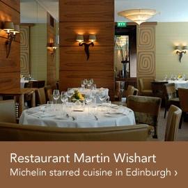 Fab lunch at Martin Wishart Honours in Edinburgh