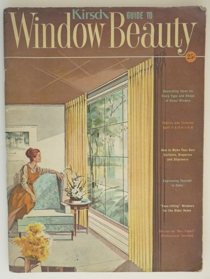 17 Best Images About Mid Century Window Treatments On