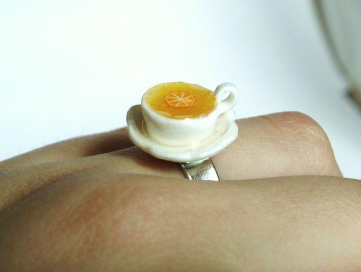 Tea cup Ring ! Ermregerd LolaWhoCharms auf Etsy