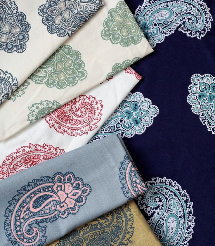 Our Paisley Collection
