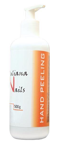 Hand Peeling - Juliana NailsIntensivpeeling mit besonders feinen Mikropartikeln. Es enthält Aloe Vera, Vitaminkomplexe und Extrakt vom Grünen Tee.