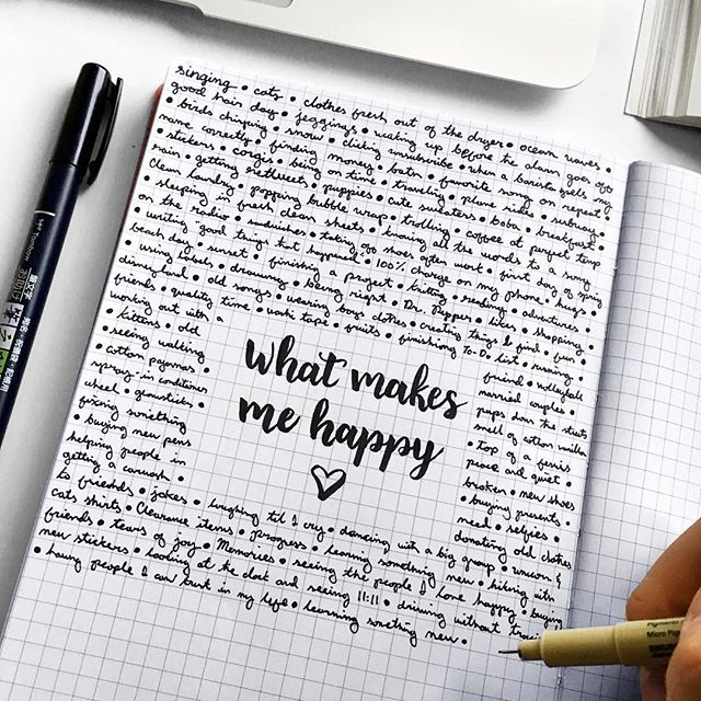#PLANNERHACK! ✨ - When you're not feeling a 100% or having a rough day, it's always a good idea to reflect on all the things that make YOU happy. - Use the grid or blank pages in your Passion Planner to create a list that you can use to remind yourself that there are so many things to be happy about & that there are better days ahead! - #passionplanner #plannertip #plannercommunity #pashfam #happy
