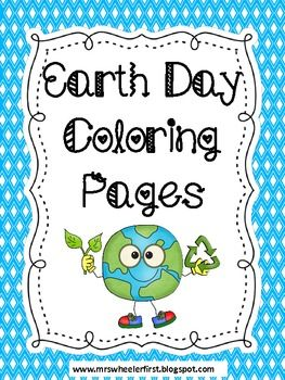Here are two different (boy and girl) coloring pages containing and Earth Day pledge.