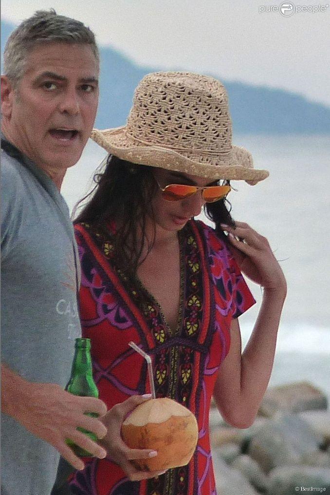 Amal et George Clooney jeunes mariés : Leur lune de miel, un triste désastre...