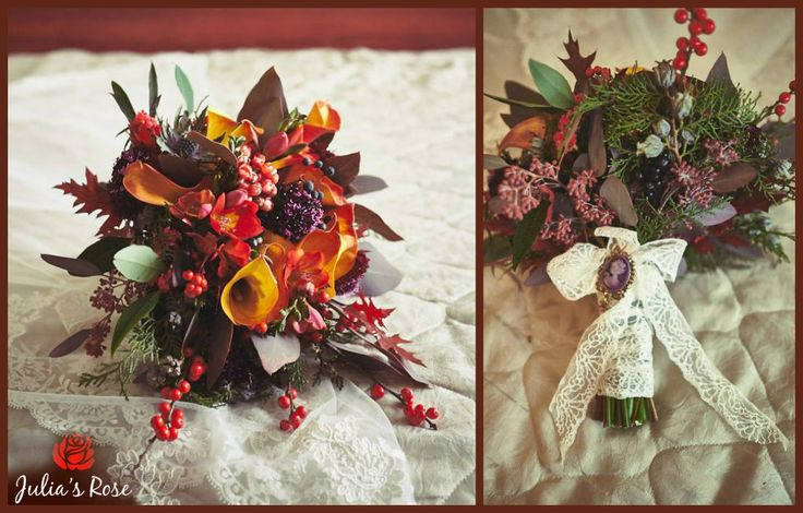 late autumn bouquet