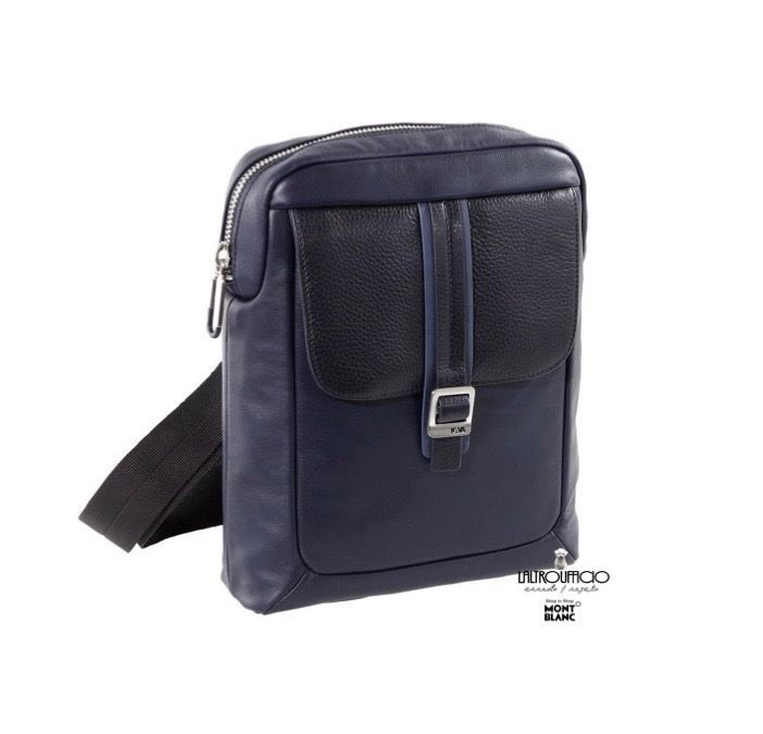 CL022B BORSA TRACOLLA/BORSELLO IN PELLE NAVA DESIGN COURIER LEATHER SC12%
