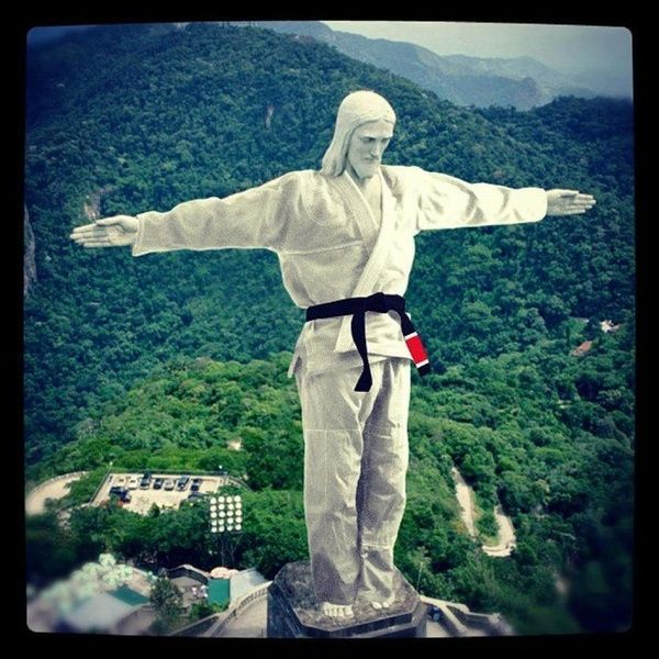 Jesus does Jiu Jitsu