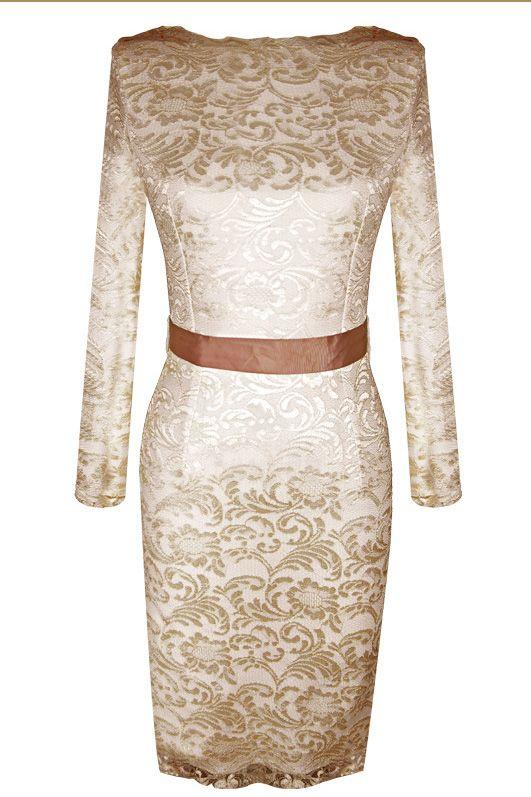 Lace dress_Dresses_CLOTHING_Voguec Shop