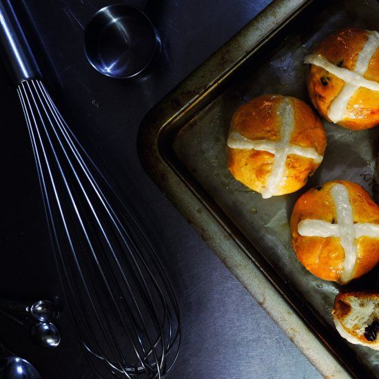 We all know that Hot Cross Buns are associated with marking the end of Lent, so we've made a gluten-free option that everyone can enjoy.