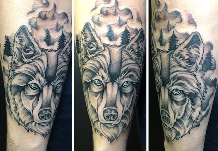 Wild and unique: Wolf Tattoos