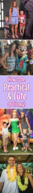 Learn how to be practical and cute at Disney! You won't want to miss out on these tips!! || Want to plan your dream Disney Vacation without the stress? Visit www.meandthemouse... and let their authorized agents help plan your magical vacation! #disney #world #Disneyland #Walt #florida #orlando #california #Mickey #Minnie #Vacation #trip #planning #planner #authorized #meandthemousetravel #tips #practical #cute #outfits #summer #fun #ideas #tricks