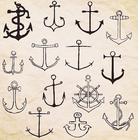 Besides from there many different proportions and literal purpose, anchors are a symbol of focal and steadfastness. This is an ideal symbol to how I conduct my own life bc I too strive to be steadfast; especially when the seas are roaring. -Jae