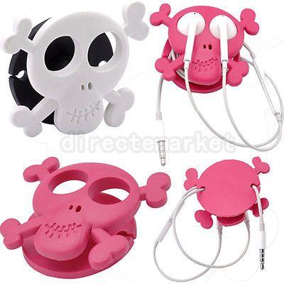 Skull headphone wrap