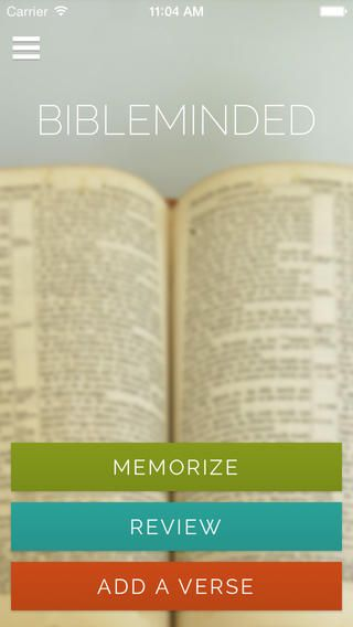 Bible Memory app for iPhone and iPad