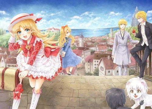 anime girl, lion, and ashita no nadja image