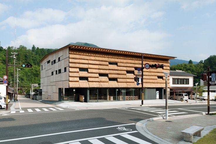 Community market Yusuhara / Kengo Kuma & Associates #architettura #legno #giappone