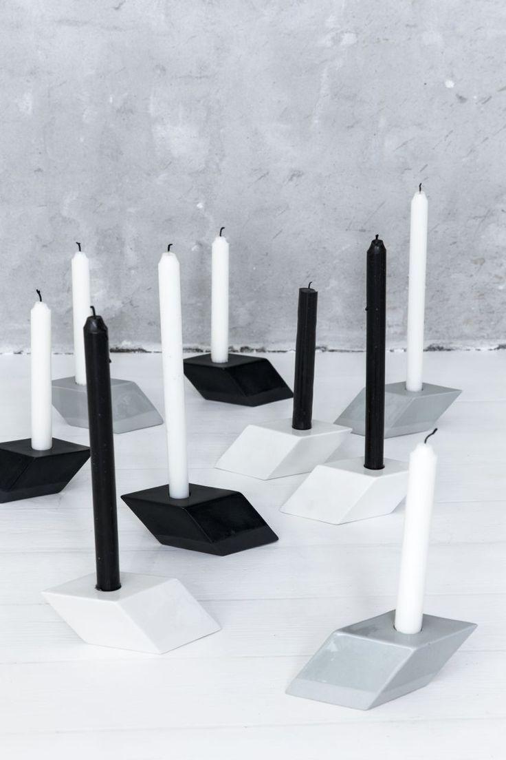The Italic Candle Holders - Kristina Dam Studio
