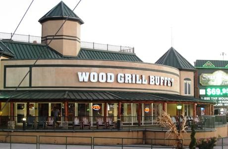 The WOOD GRILL BUFFET  Gatlinburg, Tennessee
