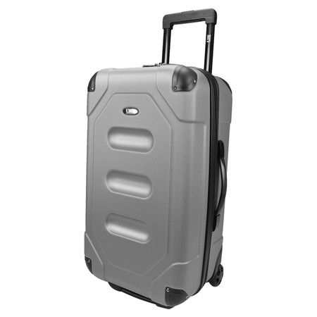 Jetset in style with this hardshell suitcase, perfect for weekend jaunts and extended vacations. Showcasing a spacious main compartment, retractable handle, ...
