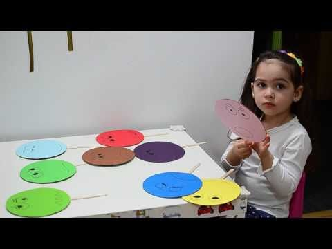 Learn emotions numbers and colors Montessori activities toddlers kids play teaching methods