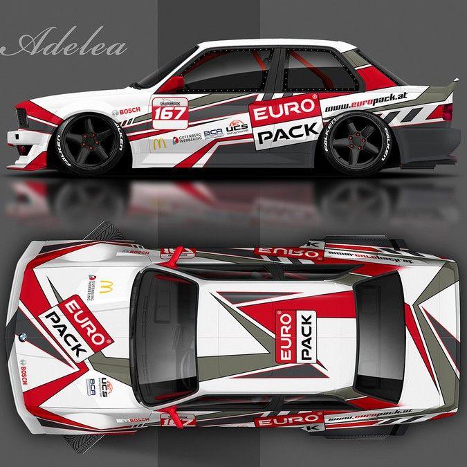Create a stunning Racing Car/Entwerfe ein atemberaubendens Rennwagendesign by adelea