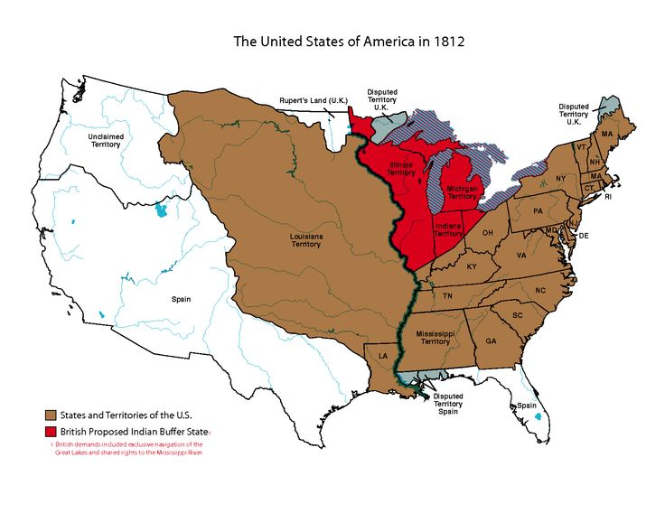 north america 1812 disputed territory atlas north america map chart america. Black Bedroom Furniture Sets. Home Design Ideas