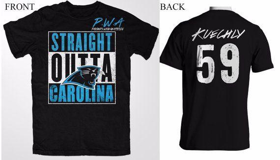 Carolina Carolina PANTHERS JERSEY NFL shirt by KAMA4KCUSTOMS