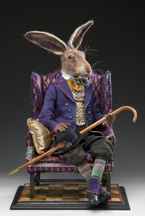 literate rabbit