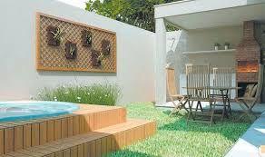 Quintal pequeno com resultado da piscina   – 2- decoração de casa