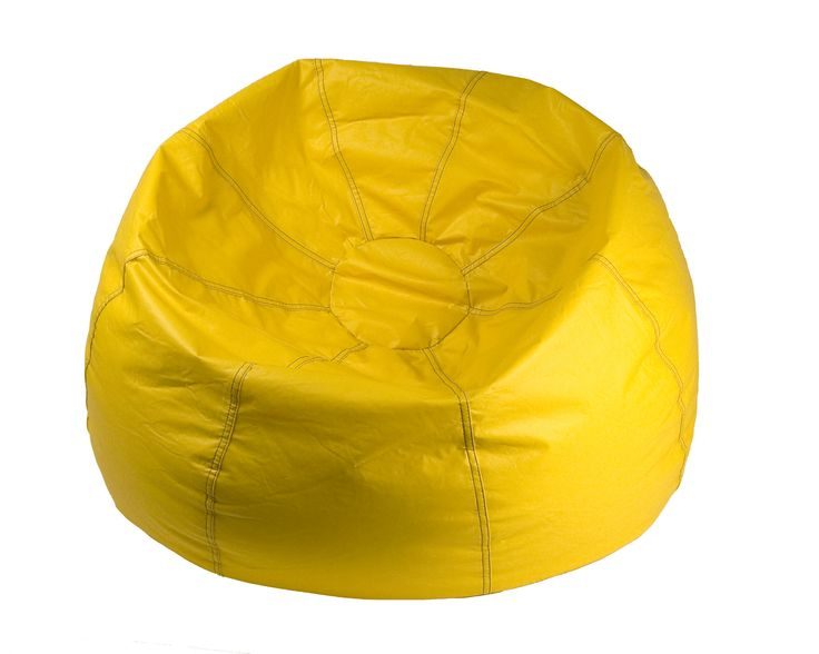 Michael Anthony Furniture Yellow Bean Bag