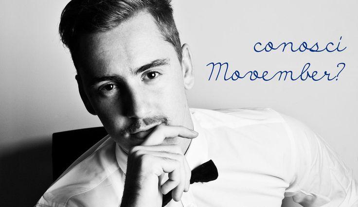 #Movember incita gli #uomini a farsi crescere i #baffi per 30 giorni, cambiando il volto della #salute #maschile. In questo modo, infatti, contribuiranno a #sostenere la #lotta contro il #cancro della #prostata. Se #ami il tuo #uomo, fallo partecipare e #regalagli un gesto d'amore, con PJ.