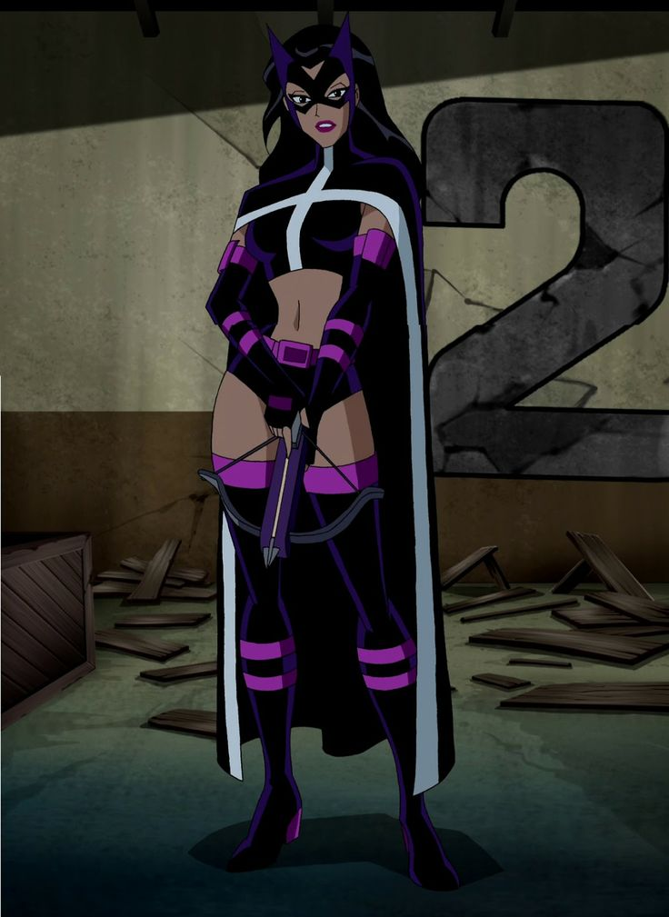 Arrow huntress and black canary | Justice League Unlimited - The Huntress