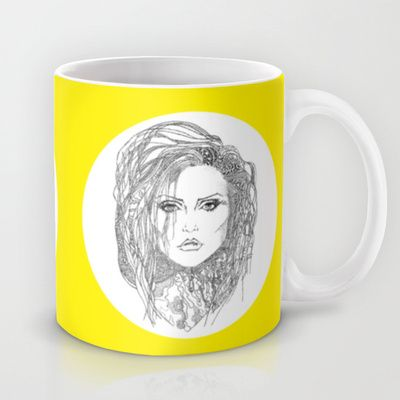 Deborah (Debbie) Harry of Blondie Mug by Francesco Carli - $15.00