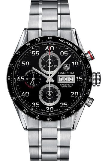 TAG Heuer 'Carrera' Automatic Tachymeter Watch