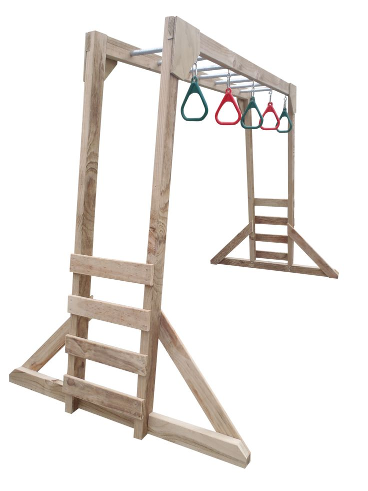 FREE STANDING MONKEY BARS (Low) (With images)   Monkey ...