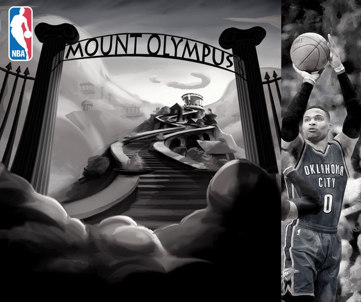 Welcome to NBA's Mount Olympus, Russel Westbrook