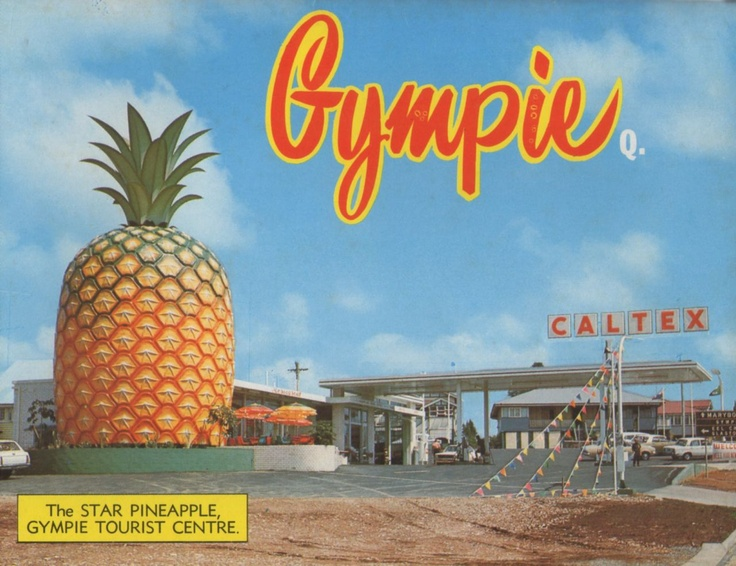 Gympie - cover of 1960s - 70s view folder.