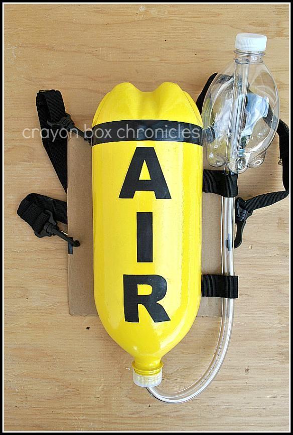 DIY Toy : DIY Fireman air tank