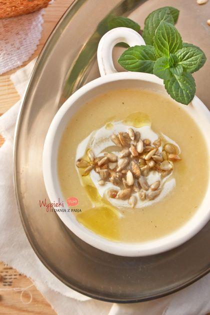 Zupa krem z białych warzyw (cream vegetable soup)