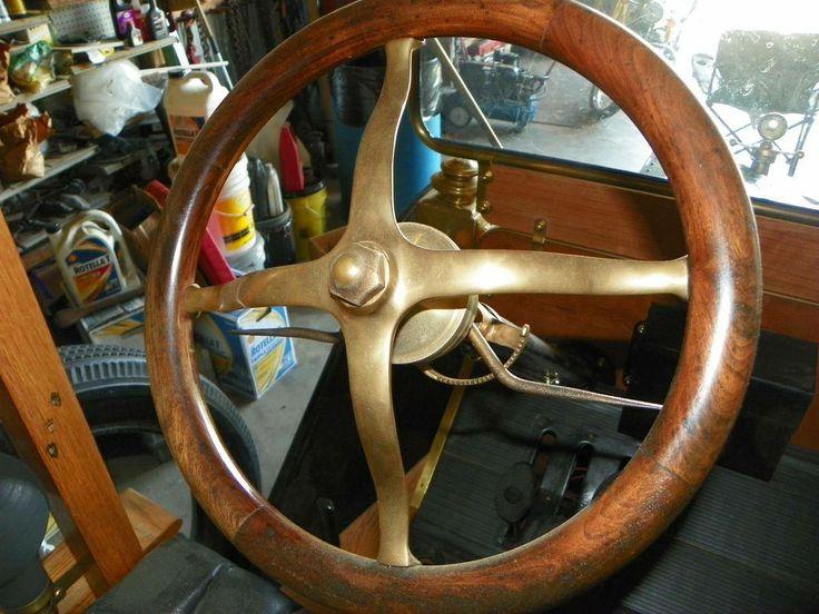 1912 Ford Model T Huckster Interior Steering Wheel