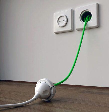 壁埋め込み延長コード Rambler Socket - Engadget Japanese