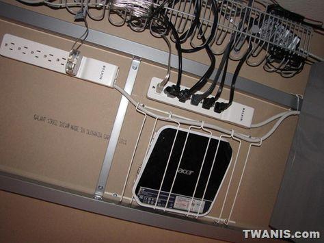 IKEA Galant Computer Desk and Monitor Raiser 9