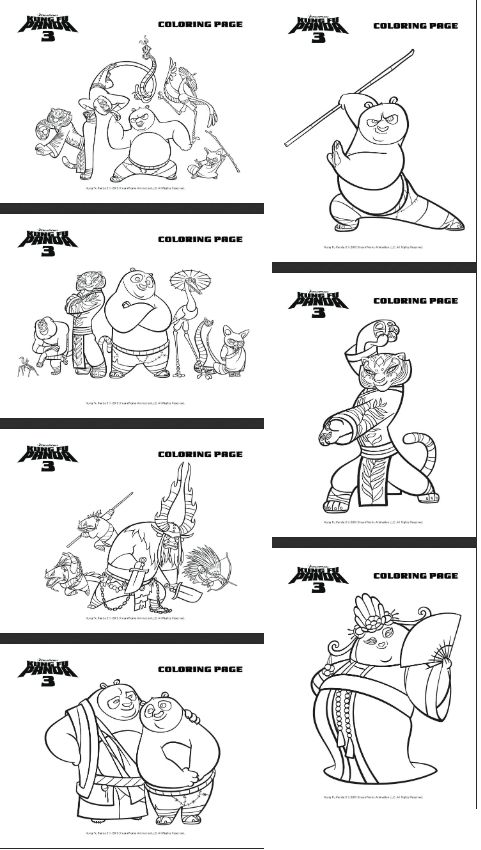 The 265 Best Kung Fu Panda Printables Images On Pinterest