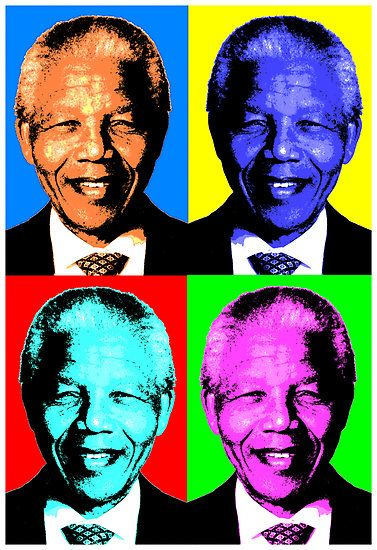 We can change the world and make a difference. It is in your hands to make a difference. ~ Nelson Mandela Pop Art by Otis Porritt