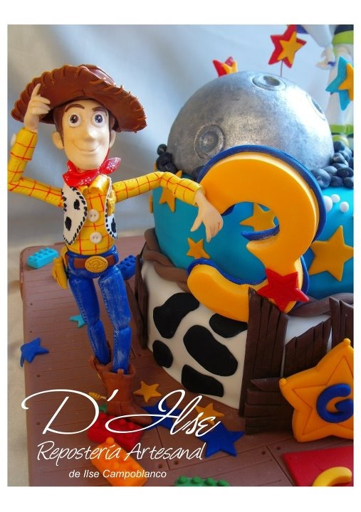 Tortas decoradas infantiles de ni os party kids for Tortas decoradas infantiles
